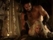 Emilia Clarke naked Game Of Thrones S01E02