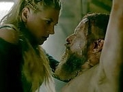 Katheryn Winnick Rides King Harald On ScandalPlanet.Com