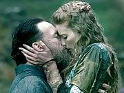 Alyssa Sutherland Rides a Guy in Vikings - ScandalPlanet.Com