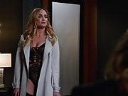 Caity Lotz Teasing in Lingerie LoT S04E06 (2018)