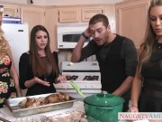 Christmas party with Nicole Aniston, Brooklyn Chase André Summer B