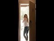 Kristen Kruek in tight jeans