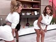 Andrea Escalona meneando el culo