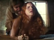 Young Redhead Prostitute Loses Virginity in Western Movie - Please Identify