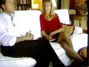 Double crossed legs on italian TV 01