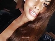 Rochelle Humes big cleavage